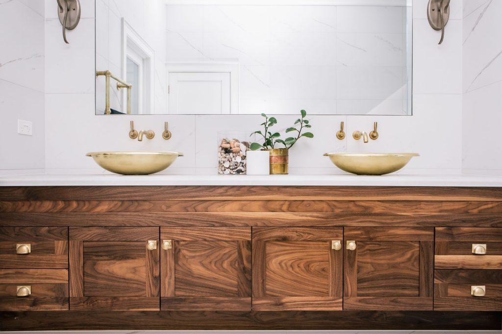 Brass Corana Basin with Brass Interior