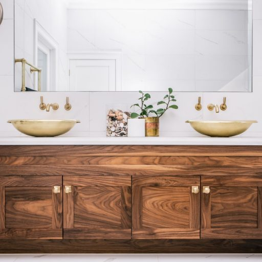 Brass Corana Basin with Brass Interior
