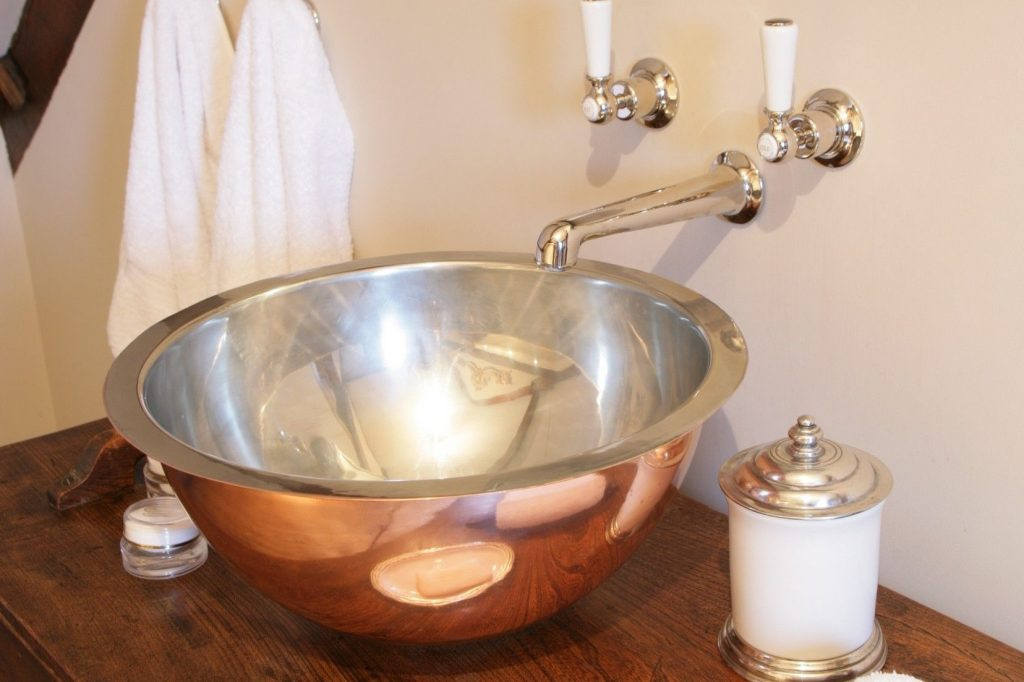 Copper Gyrus Basin with Nickel Interior