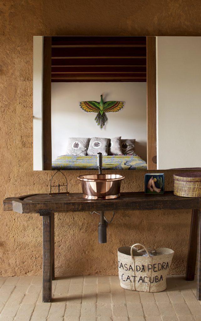 Copper Bathroom Basin