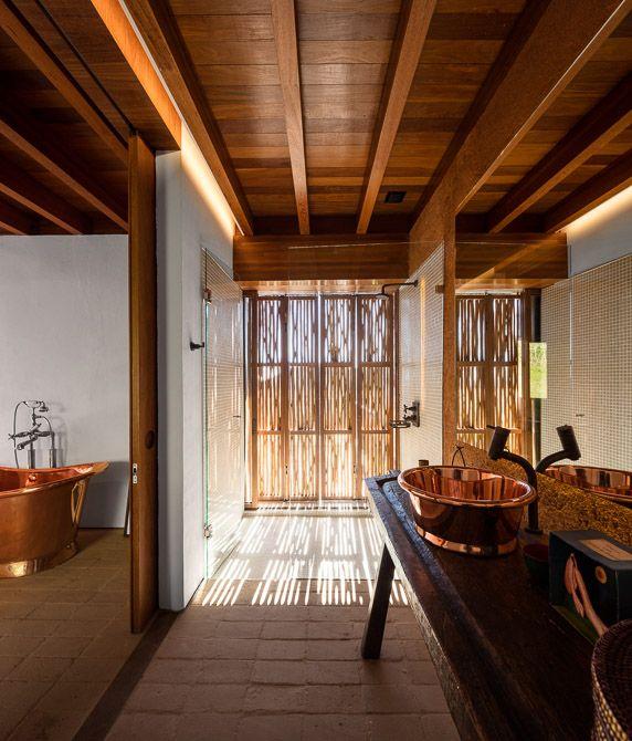 Copper Bath & Copper Basin