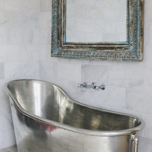 Tin Slipper Bath