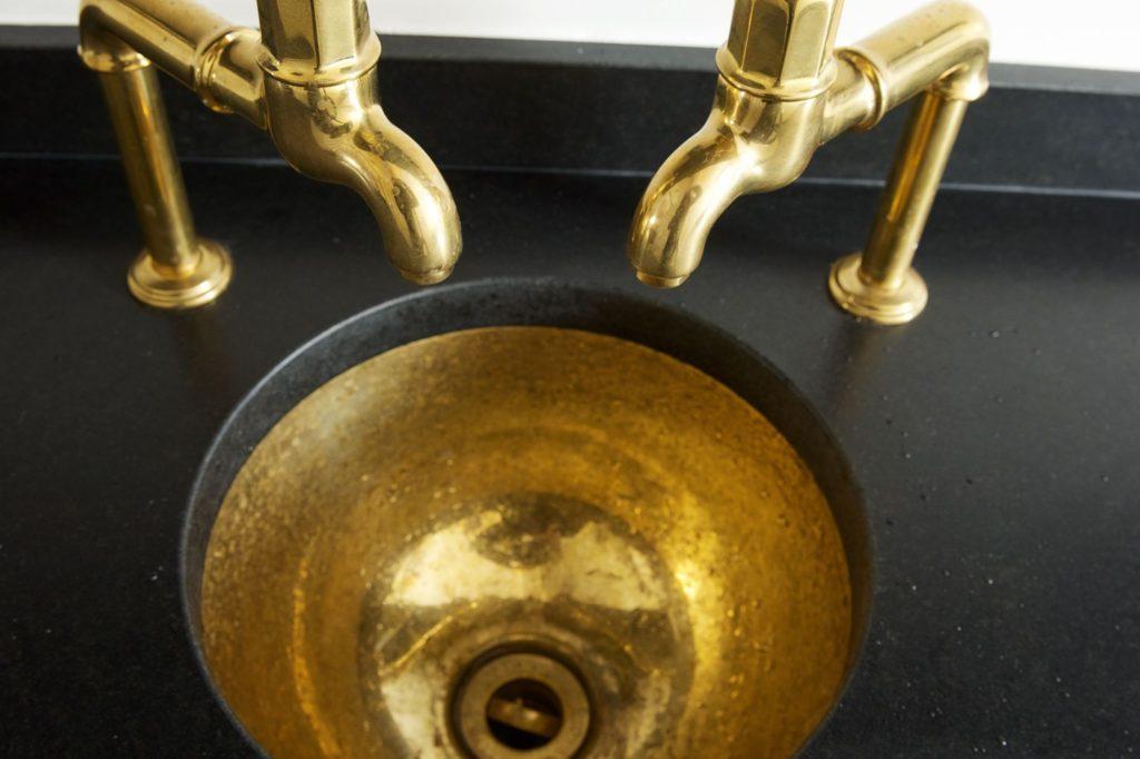 Brass Wash Basin