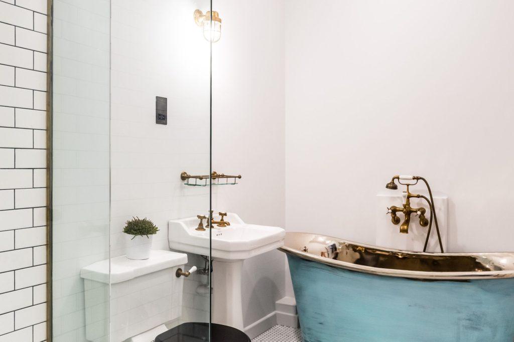 Verdigris Copper Bath