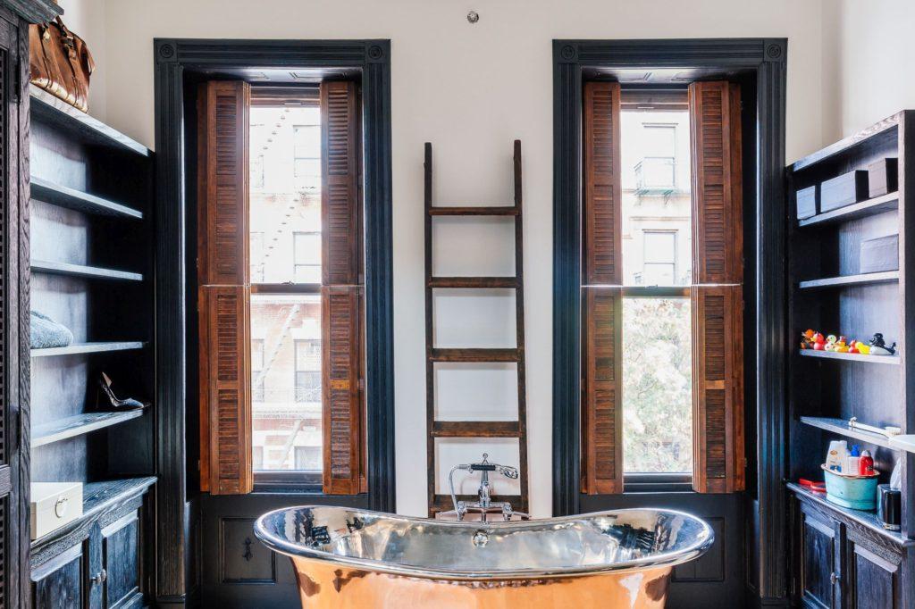 Copper Bath with Tin Interior